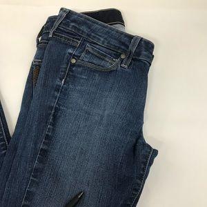 PAIGE Jeans - Paige Womens Jeans Peg Skinny Denim Size 25 Dark